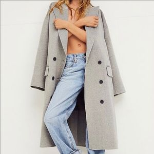 Free People Adore You Wool Coat